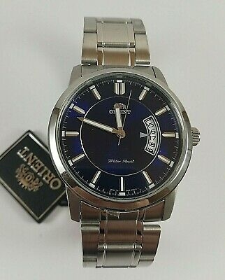 ORIENT SUND8001D0 Watch All Stainless Steel Japan Made WR 50m