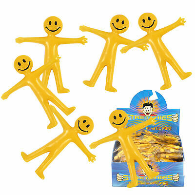 Stretchy Smile Man Birthday Party Bag Filler Loot Kids Childrens Classic Fun Toy