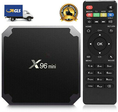 X96MINI SMART TV BOX ANDROID 7.1 X 96 MINI Nougat S905W 4K IPTV 5 CORE