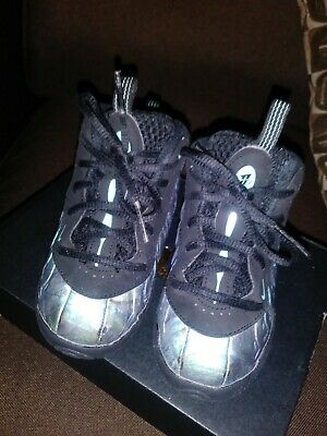 04185acbfde60 NIKE LIL FOAM Posite One Aurora Green Shoes A08038-009 Toddler Size ...