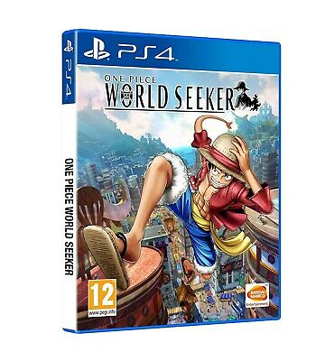 VIDEOGIOCO ONE PIECE - WORLD SEEKER PS4 ITALIANO PLAY STATION 4 key ps store