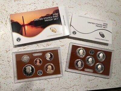 2019 S FULL US Mint Proof Set  INCLUDING ATB QUARTERS & WEST POINT CENT COA 19RG