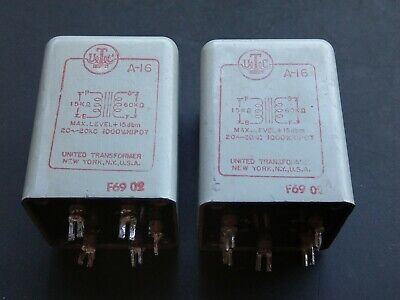 UTC A-16 Transformer for Tube Amps Code: F69-02 - 2 Pieces Available