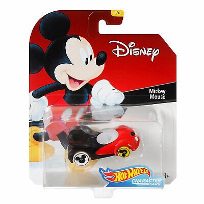 Hot Wheels Disney MICKEY MOUSE 1:64 Scale Die-cast Character Car