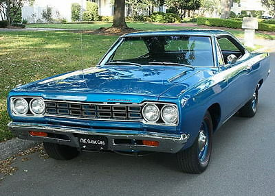 1968 Plymouth Road Runner HEMI  V-8 - ONE OF 61 - ROSTISSERIE LOWER RESERVE 1 OF 61 - 426 HEMI - 1968 Plymouth Road Runner Hardtop - 53K MI
