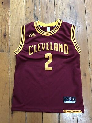 da5d99c1e2e Cleveland Cavaliers Jersey Adidas Kyrie Irving  2 Youth Medium 10-12 Wine    Gold