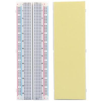 830 Tie points Solderless Breadboard Circuit Bread Recyclable Contacts Rainbow -