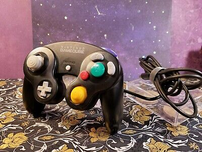 Original OEM Nintendo GameCube Black Controller (Official Tested)