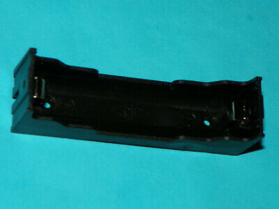 Single 18650 Li-on battery holder box sled with solder pins PC PCB mount
