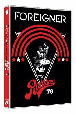 Foreigner Dvd - Live At The Rainbow '78 (2019) - New Unopened - Rock