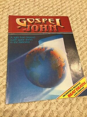 RICK GRIFFIN - Gospel Of John - Illustrated 1980  Out Of Print Collector