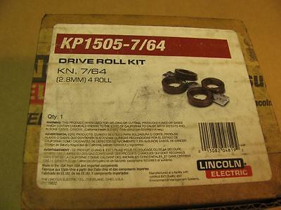 Lincoln KP1505-7/64 Drive Roll & Wire Guide Kit for LN10 DH10 Wire Feeders