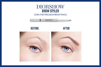 Dior Diorshow Brow Styler Ultra-Fine Precision Pencil Bnib 100% Genuine 001/021