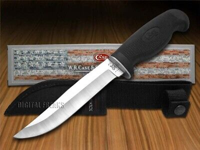 WR CASE Lightweight Black Synthetic Clip Fixed Blade Hunter 592 Knife