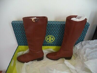 3b812f1cea3 Tory Burch MARSDEN OVER THE KNEE Tan Leather Boot SIZE 8M NEW WITH BOX