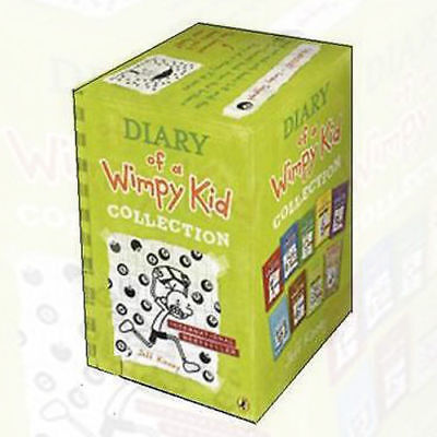 Jeff Kinney's Diary of a Wimpy kid collection (Hard Luck) 9 Books Set, The Third