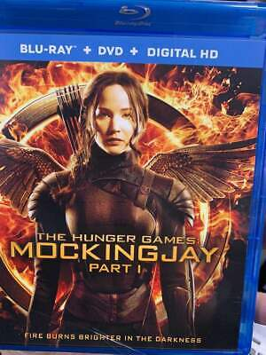 Hunger Games MockingJay Part 1 Blu-Ray No DVD/Digital/Slip Like New Combine SHIP