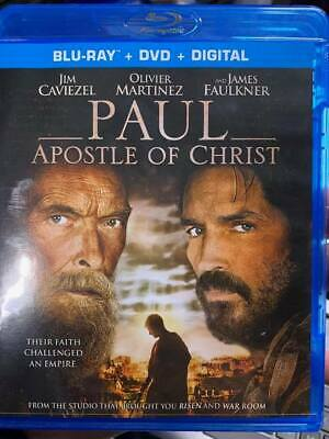 Paul Apostle of Christ Blu-Ray No DVD/Digital/Slip Like New FREE Combine SHIP