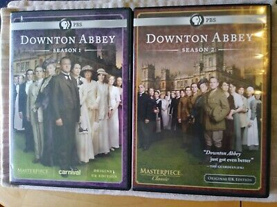 Downton Abbey Season 1 & 2 dvd sets