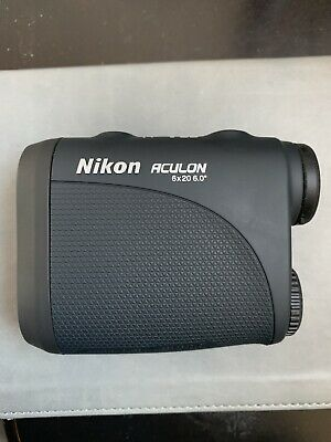 Nikon Aculon 6x20 Laser Rangefinder with Lowepro padded case
