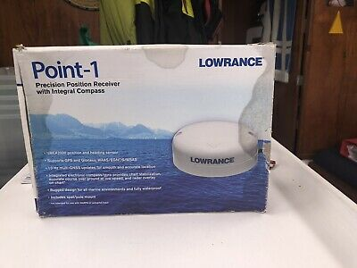 LOWRANCE - POINT-1 - GPS Position Receiver Antenna Compass Point 1 FREE POSTAGE