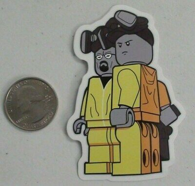 LEGO X BREAKING BAD STICKERS SKATEBOARDS FOR LAPTOPS ETC. SUITCASES