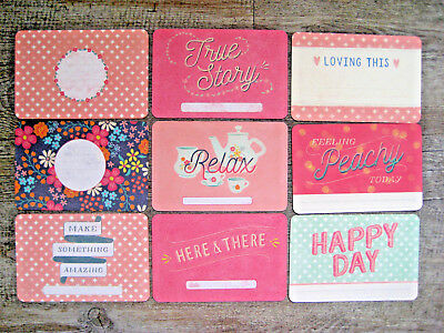 """'wonderful' Project Life Cards By Becky Higgins -6"""" X 4"""""""