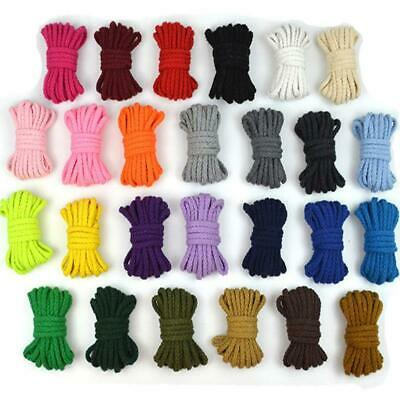 5mm Cotton Cord Eco-Friendly Twisted Rope High Tenacity Thread DIY Textile Craft