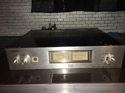 Toshiba Sc-665 Vintage Classic Hi-Fi Power Amplifier Made In Japan 1980
