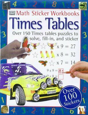 (Very Good)0751356786 Times Tables (Mathematics Sticker Workbooks),,Paperback,Do
