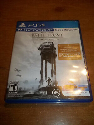 Star Wars: Battlefront Ultimate Edition (PlayStation 4, 2016) PS4 VR No Code