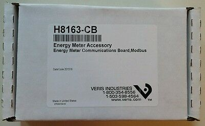 Veris Industries H8163-CB Energy Meter Communications Board, Modbus