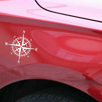1X Compass Vinyl Decal Removable Car Sticker Decals Decorative For Auto Window