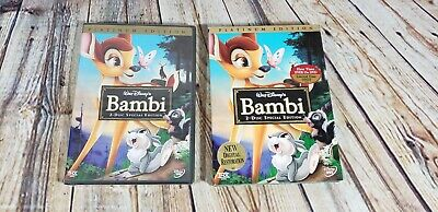 Bambi (DVD, 2005, 2-Disc Set, Special Edition/Platinum Edition) DVD sealed