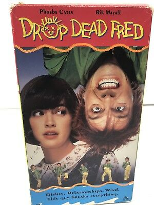 DROP DEAD FRED (1991) Phoebe Cates & Nik Mayall VHS