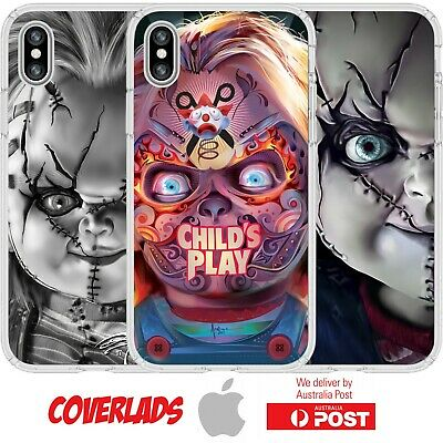 Silicone Cover Case Childs Play Chuck Horror Movie Dummy Toy Creepy - Coverlads