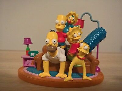 The Simpsons COUCH PYRAMID Hamilton Figurine Couch Gags Collection HOMER Marge