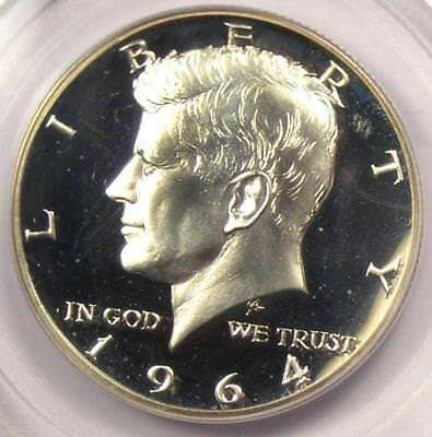 1964 Accented Hair Proof Kennedy Half Dollar 50C - PCGS PR68 Cameo - $1700 Value
