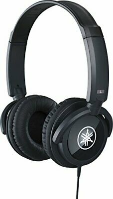 YAMAHA Headphones black HPH-100B with Tracking # New from Japan