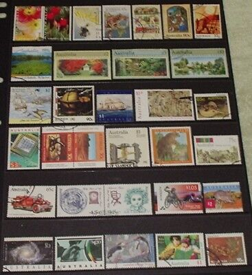 bulk - HIGH VALUE AUSTRALIAN STAMPS TO $10