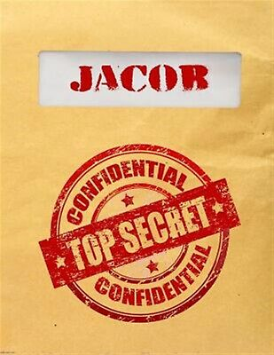 Jacob Top Secret Confidential: Composition Notebook for Boys by Dartan Creations