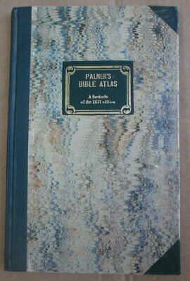 PALMER'S BIBLE ATLAS A facsimille of the1831 edition Jerusalem 1981
