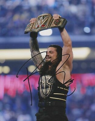 """Roman. Reigns Hand Signed Autographed 8x10"""" Photo  12216"""