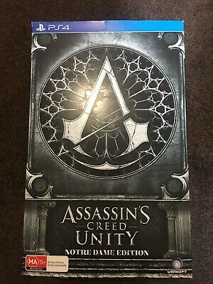Assassins Creed Unity Notre Dame Collectors Edition Playstation PS4 Game