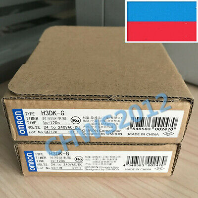1 PCS NEW IN BOX Omron Solid State Timer H3DK-G AC/DC24-240