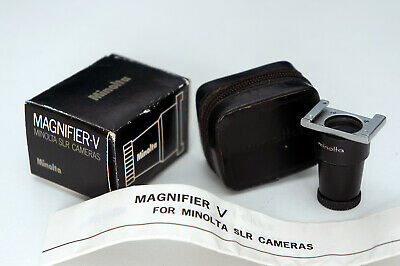 Minolta Viewfinder Magnifier V vintage SR SLR also fits many Dynax Contax Sony