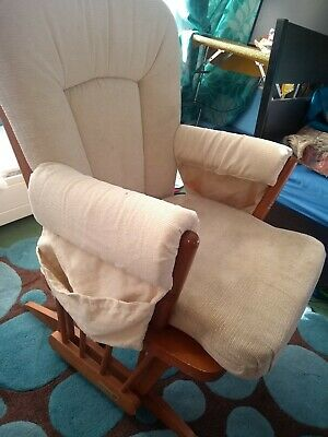 Dutailier Nursing Gliding Rocking & static maternity Chair.