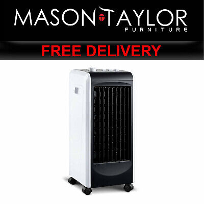 MT Devanti Evaporative Air Cooler and Humidifier - Black EAC-01-BT-BLACK AU