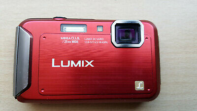 16MP - Panasonic Lumix DMC-FT20 Underwater, Shockproof and Dustproof Camera
