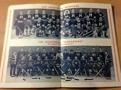 1936-37 Crown Brand Corn Syrup Hockey Booklet